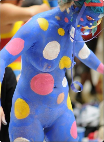 Bears Pub - Body Painting